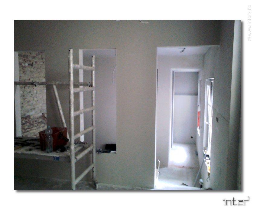 Amenagement bureau architecte et architecure d interieur uccle