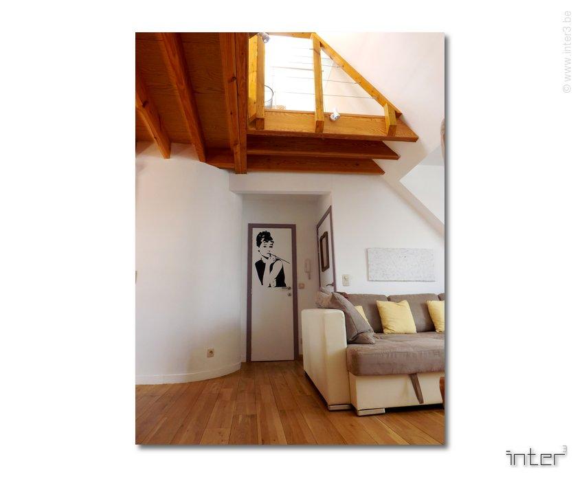 Préférence Extension en toiture et aménagement d'un duplex à Bruxelles  CT41