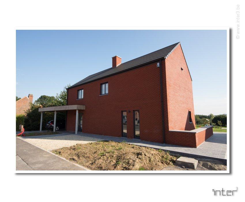 Construction d une maison basse nergie en hainaut for Achat maison neuve brabant wallon