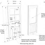 Etude des portes sur mesure - Knokke.