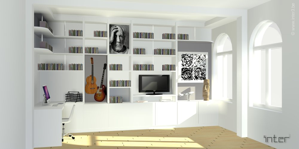 Salon Decoration Belgique : Aménagement salon bruxelles inter